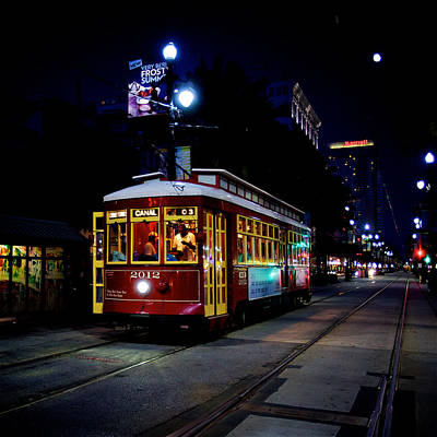 Print featuring the photograph The Trolley by Evgeny Vasenev