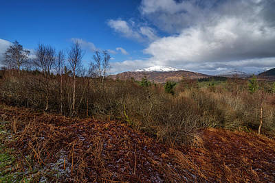 Photograph - The Trossachs National Park by Jeremy Lavender Photography