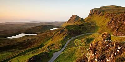 Photograph - The Trottenish Ridge by Stephen Taylor
