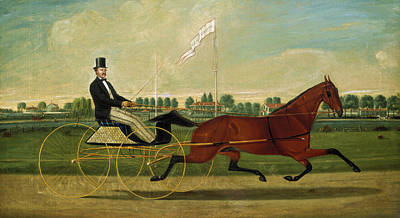 Painting - The Trotter by Charles S Humphreys