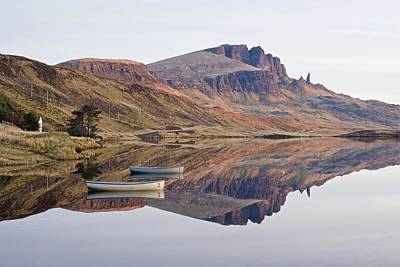 Photograph - The Trotternish Ridge Reflected by Stephen Taylor