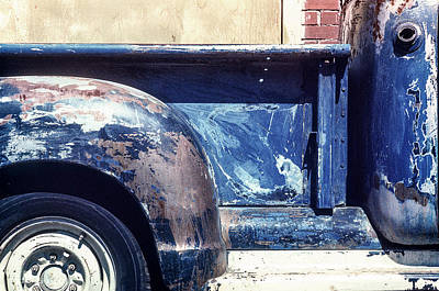 Photograph - The Truck In Abstract Paint by John Brink
