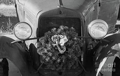 Photograph - The Truck Of Christmas Past by Debby Pueschel