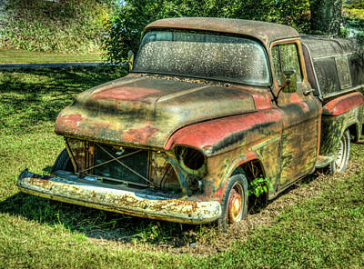 Photograph - The Truck That Has Seen Better Days by Douglas Barnett