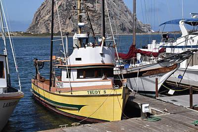 Photograph - The Trudy S Morro Bay California by Barbara Snyder