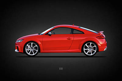 Audi Tt Photograph - The Tt Coupe by Mark Rogan