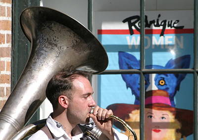 Photograph - The Tuba Serenade In New Orleans by Michael Hoard