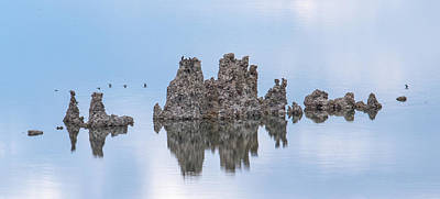 Photograph - The Tufas In Mono Lake by Phil Stone