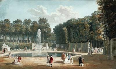 The Tuileries Garden Art Print