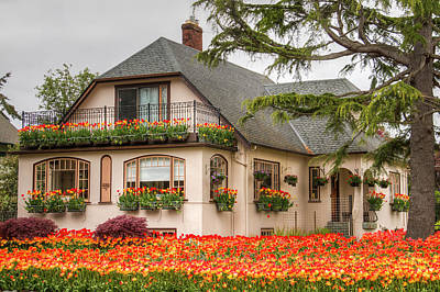 Personalized Name License Plates - The Tulip House by Kristina Rinell