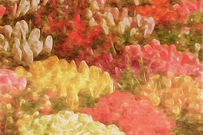 Mixed Media - The Tulip Market by Susan Maxwell Schmidt
