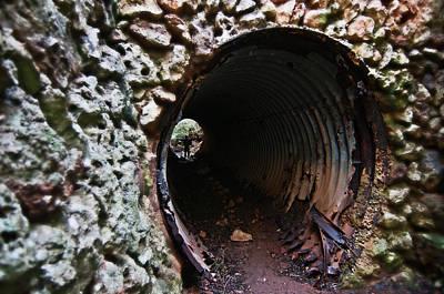Photograph - The Tunnel by Pedro Cardona Llambias