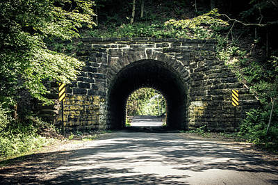 Photograph - The Tunnel by Ray Sheley