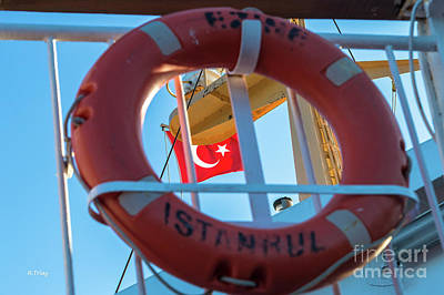 Photograph - The Turkish Flag Al Bayrak by Rene Triay Photography
