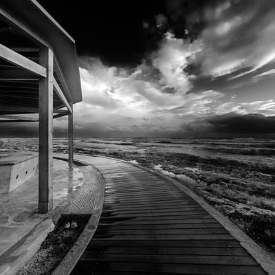 Solitude Photograph - The Turning Point by Stelios Kleanthous