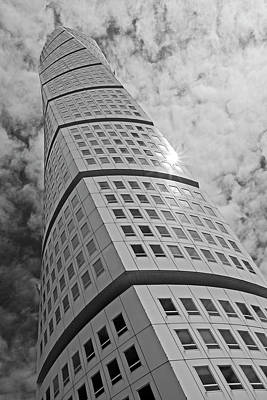 Photograph - The Turning Torso 2 by Inge Riis McDonald
