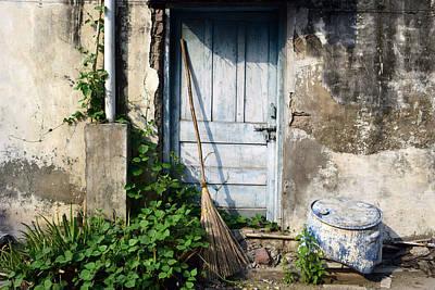 Photograph - The  Turquoise Door by Sumit Mehndiratta