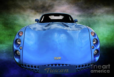 Photograph - The Tvr Tuscan by Adrian Evans