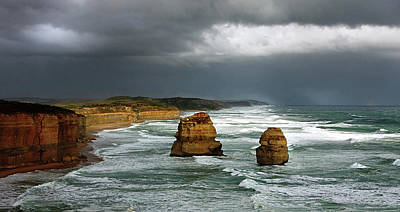 Photograph - The Twelve Apostles by Marion Cullen