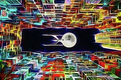 Digital Art - The Twenty-third Century by John Haldane