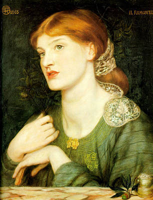 Painting - The Twig by Dante Gabriel Rossetti