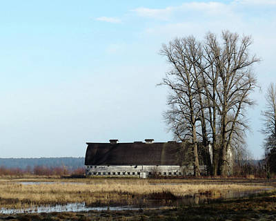Photograph - The Twin Barns by I'ina Van Lawick