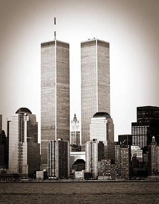 Photograph - The Twin Towers by Frank Winters