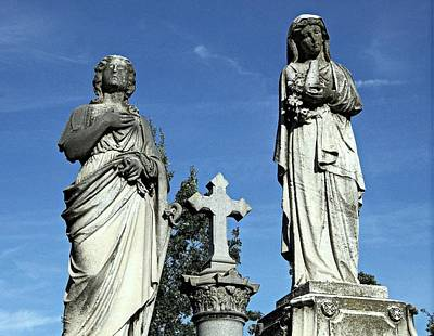 St Mary Magdalene Photograph - The Two Mary's by James DeFazio