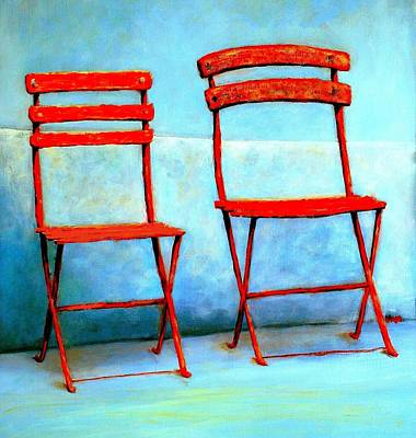 Painting - The Two Of Us by VIVA Anderson