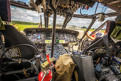 Photograph - The Uh60, A Button Pushers Paradise by Philip Rispin