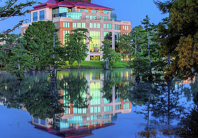 Ulm Photograph - The Ulm Library  by JC Findley