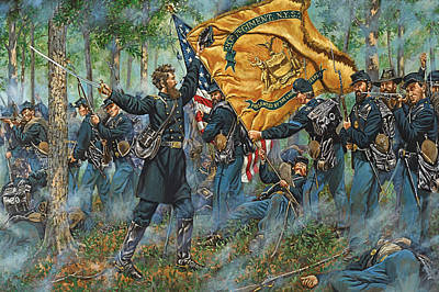 The Ulster Guard - The 20th New York Militia - 80th N.y. Infantry - Battle Of Second Manassas Original