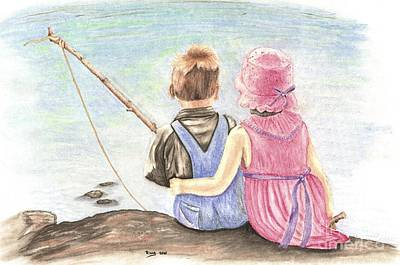 Companion Mixed Media - The Ultimate Fishing Trip by Russ  Smith