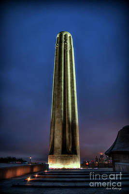 Photograph - The Ultimate Sacrifice 2  Liberty Memorial Kansas City Missouri Art by Reid Callaway