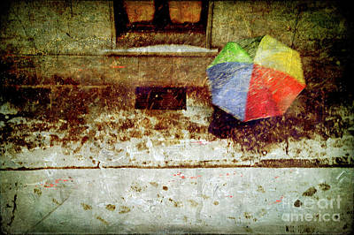 The Umbrella Art Print by Silvia Ganora