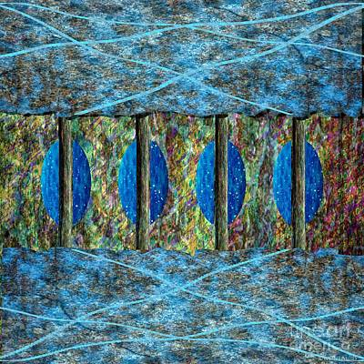 Incision Digital Art - Concept Triptych 30 by Walter Oliver Neal