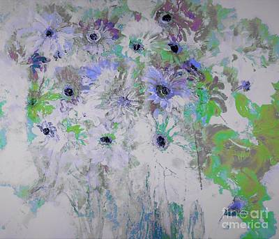 Floral Painting - The Undefined Reality by Lisa Kaiser