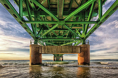 Wall Art - Photograph - The Under Side Of The Mighty Mac by J Thomas