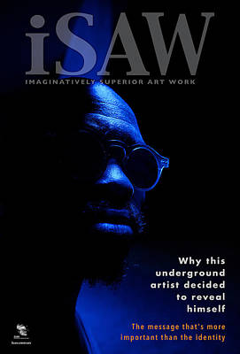 Digital Art - The Underground Artist Magazine by ISAW Gallery