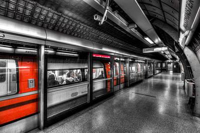 Photograph - The Underground System by David Pyatt
