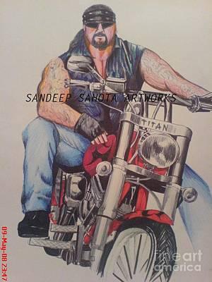 Kama Sutra Painting - The Undertaker by Sandeep Kumar Sahota