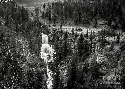Photograph - The Undine Falls by Robert Bales