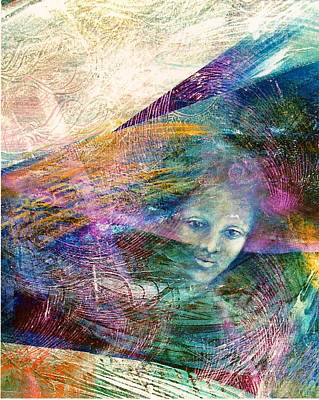 The Undine Art Print by Sue Reed
