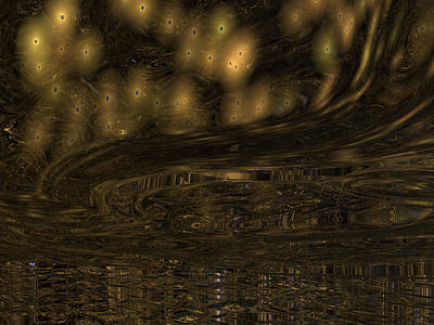 Digital Art - The Unexpected Storm by Michele Wilson