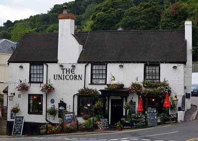 Photograph - The Unicorn Pub In Great Malvern by Carla Parris
