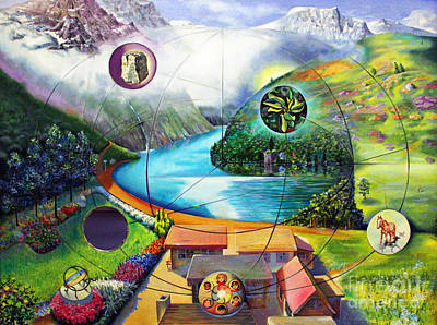 Diversity Painting - The Unified Field Theory by Alfred Dolezal