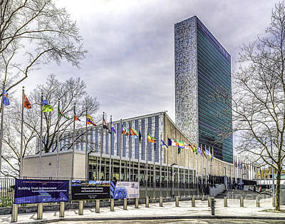 Photograph - The United Nations Building by Nick Zelinsky