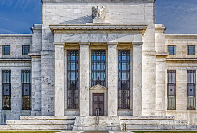 Photograph - The United States Federal Reserve by Susan Candelario