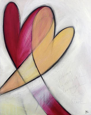 Painting - The Universal Language Of The Heart by Anna Elkins
