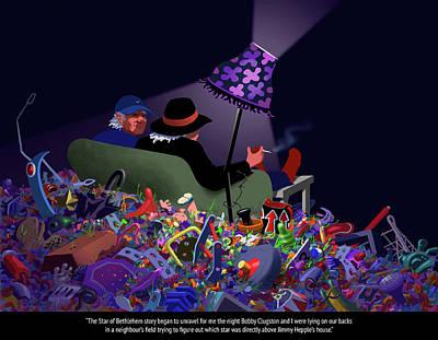 Senior Digital Art - The Unraveling by Tom Dickson